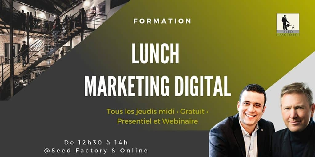 Lunch Formation Marketing Digital Seed Factory