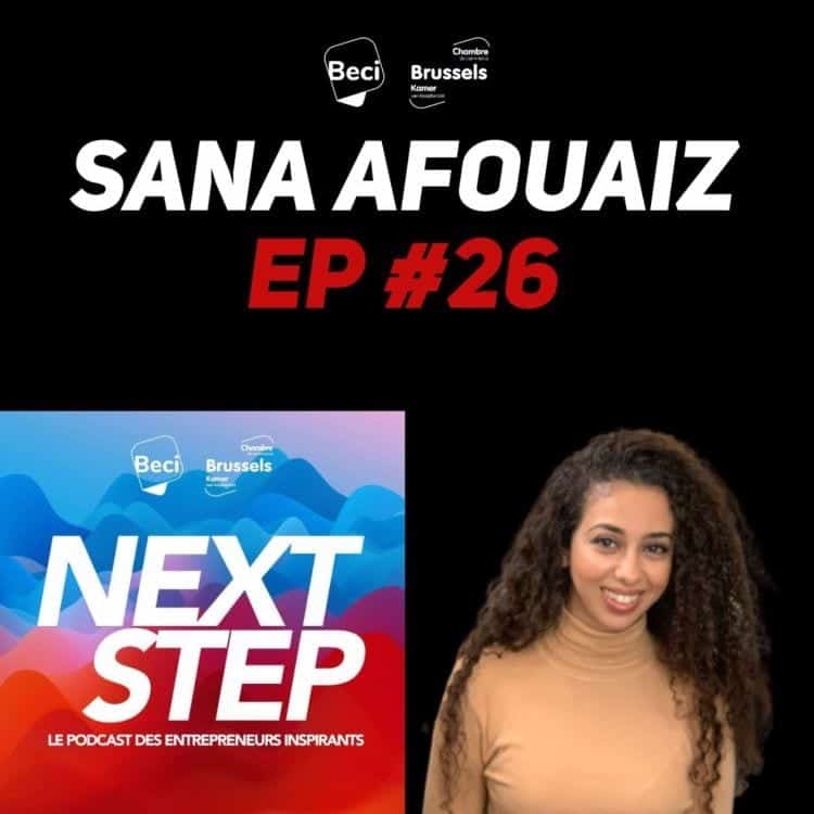 NextStep Podcast Sana Afouaiz
