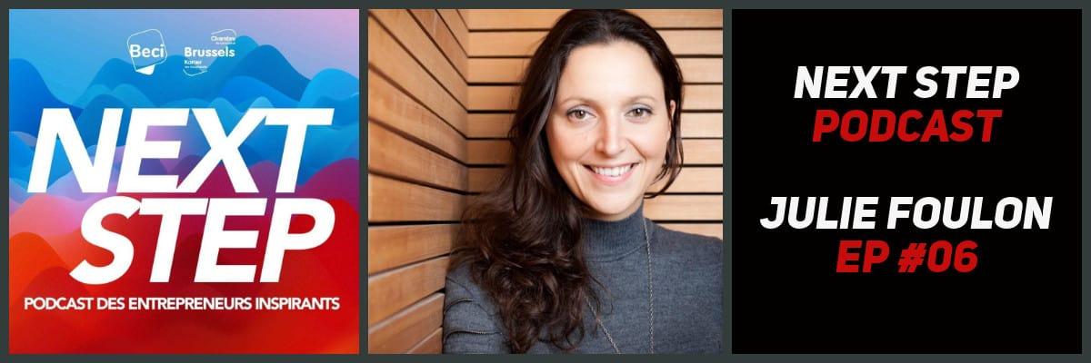 NEXT STEP #06 – Julie Foulon – Tout a commencé avec un parachute