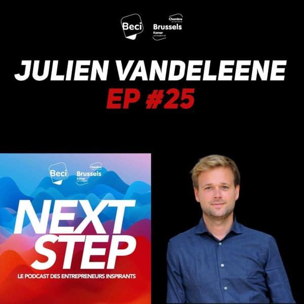 #25 – Julien Vandeleene – 3 millions d'euros pour conquérir le marché du parking partagé
