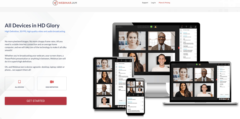 WebinarJam conference en ligne - aperçu