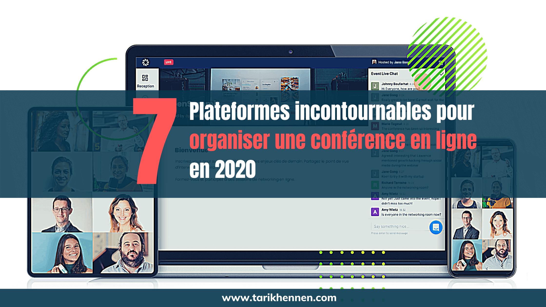 Cover 7 plateformes incontournables pour organiser une conférence en ligne en 2020