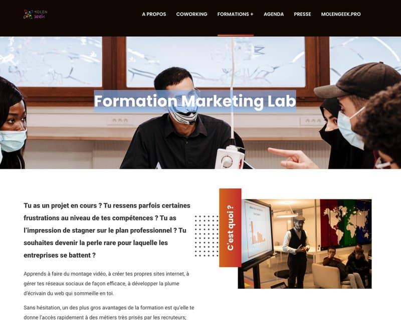 molengeek Marketing Lab - Apercu