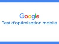 Google Test optimisation mobile thumb